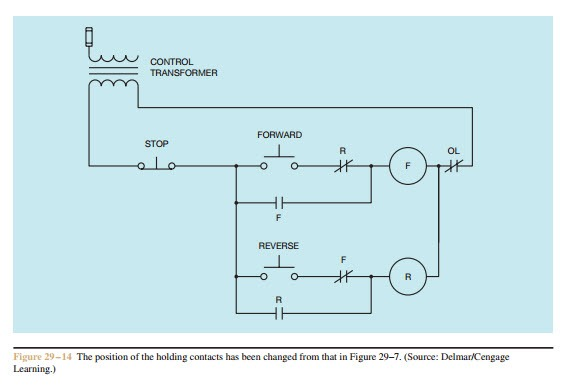 Forward re verse control developing a wiring diagram and for Forward reverse dc motor control circuit