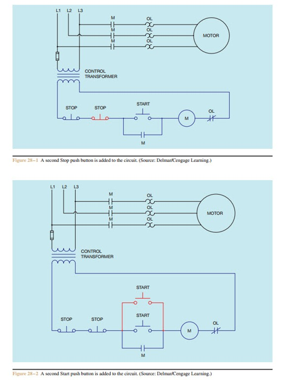 MULTIPLE PUSH BUTTON STATIONS 0767 multiple push button stations electric equipment multiple motor control wiring diagram at fashall.co