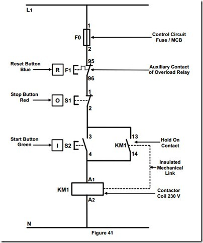 control wiring diagram for dol starter - somurich.com direct online wiring diagram #12