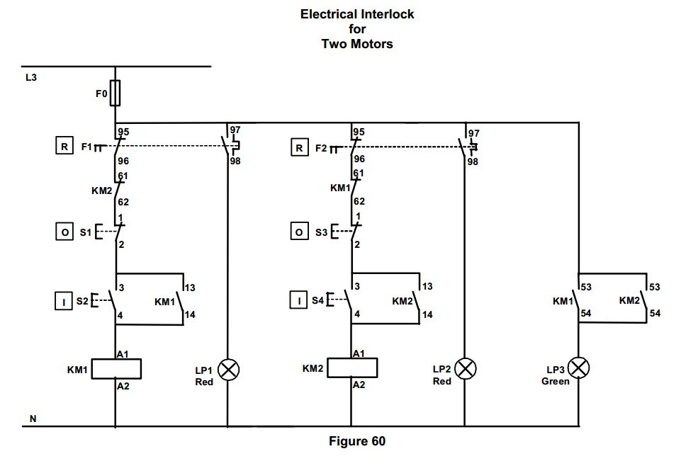 Motor Control Circuits:Motor Circuit Diagrams | electric equipment