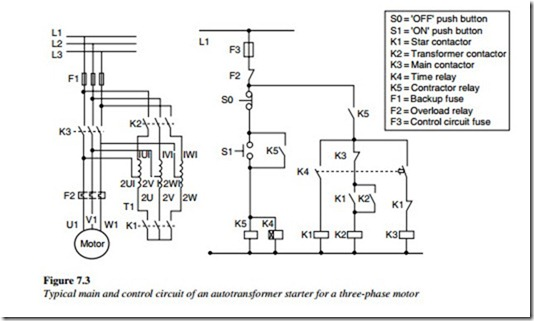 troubleshooting control circuits:basic control circuits ... led wiring schematic auto transformers
