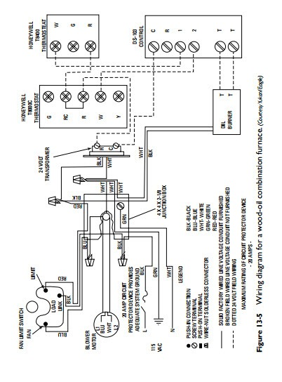 boiler wiring diagrams for combustion air