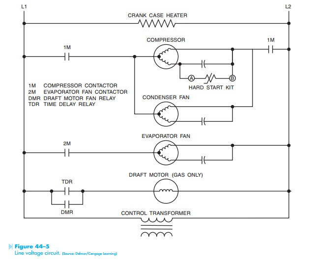 TROUBLESHOOTING USING CONTROL SCHEMATICS:CIRCUIT OPERATION AND ... on ac system diagram, compressor schematic diagram, a c compressor diagram, speedaire compressor diagram, chiller diagram, train diagram, points and condenser diagram, hvac compressor diagram, lg linear compressor diagram, air ride suspension diagram, d27256 regulator diagram, water source heat pump diagram, 3 wire condenser fan motor diagram, air conditioning relay switch diagram, bendix air brake system diagram, compressor start relay pentair, compressor motor diagram, air compressor diagram, spring diagram, pressure switch diagram,