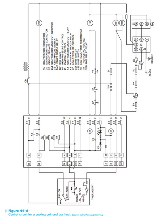 Troubleshooting Using Control Schematics Circuit Operation And Operation Of The Compressor Lock